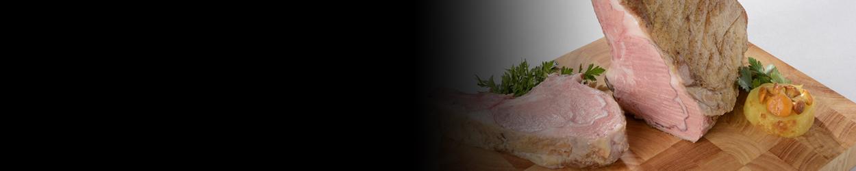 Carré de veau cuit à basse température
