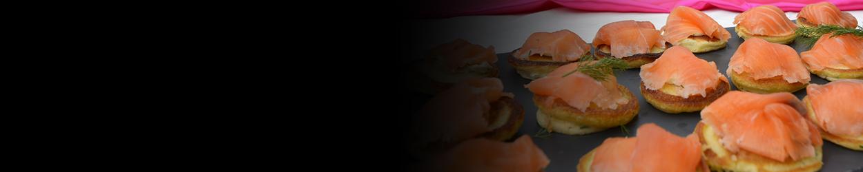 Blinis saumon marine anette