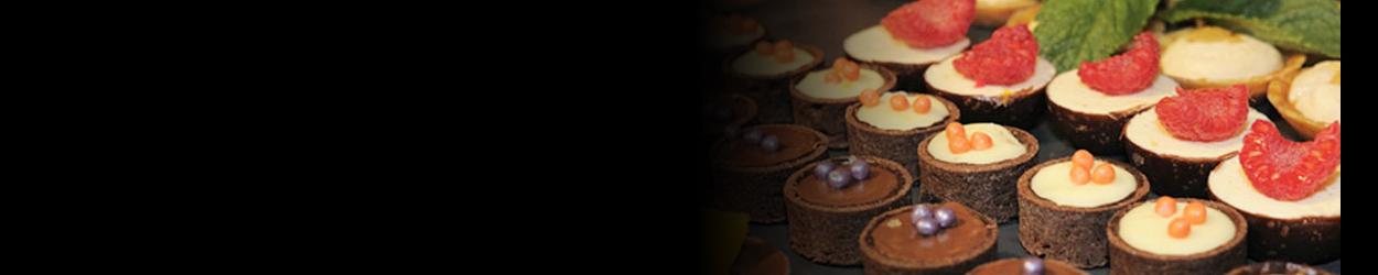 Mignardises mini tartelettes chocolat fruits